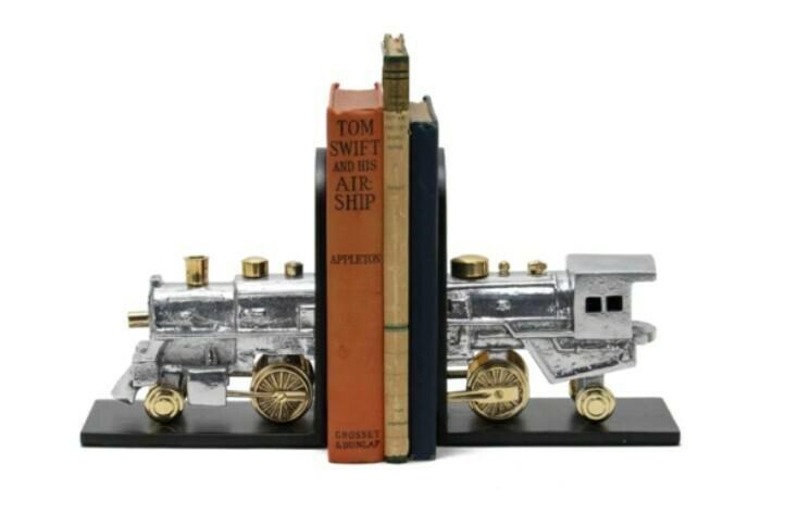 Locomotive Bookends