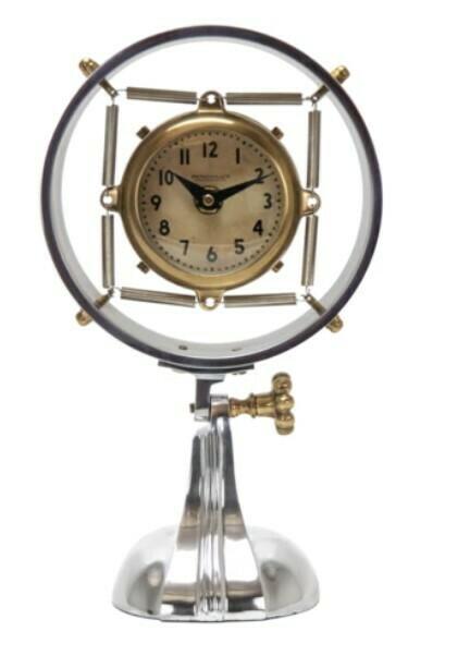 Deco Microphone Clock