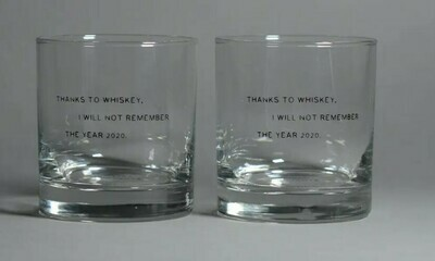 Whiskey 2020 Glass