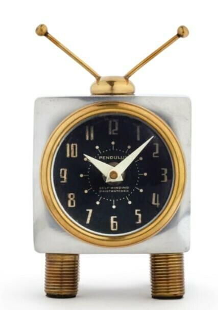 TV Clock