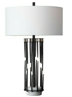 Brass/Metal/Marble Table Lamp
