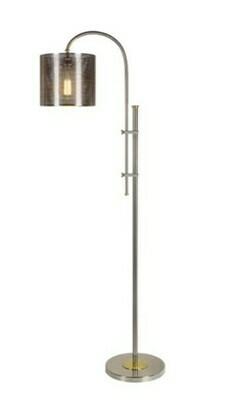 Mesh Gage Floor Lamp