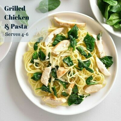 GRILLED CHICKEN & PASTA