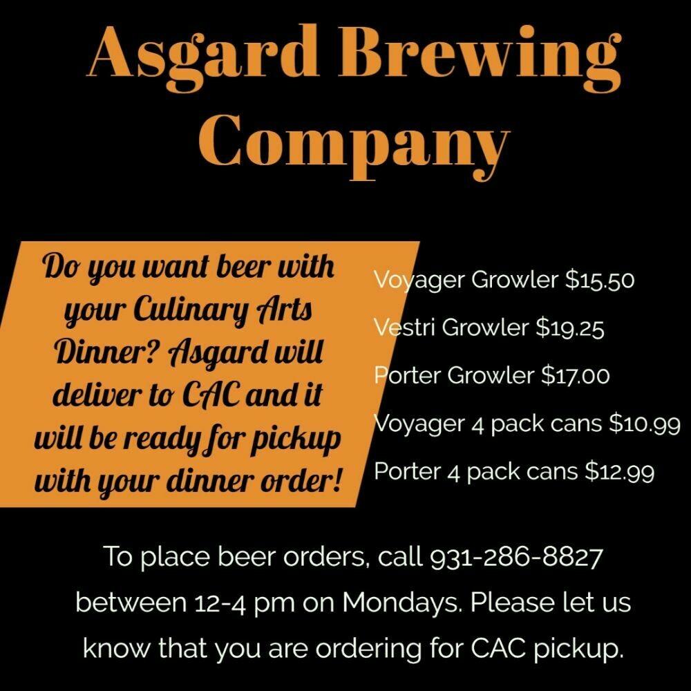 Asgard Growler Pick-up!