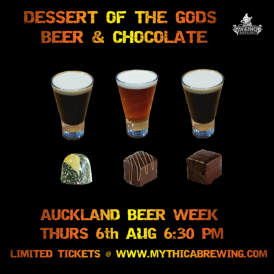 TICKETS - DESSERT OF THE GODS: BEER AND CHOCOLATE