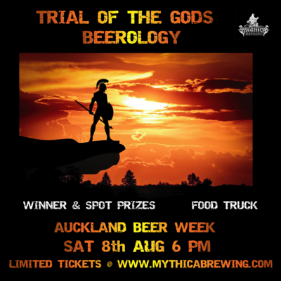 TICKETS - TRIAL OF THE GODS: BEEROLOGY