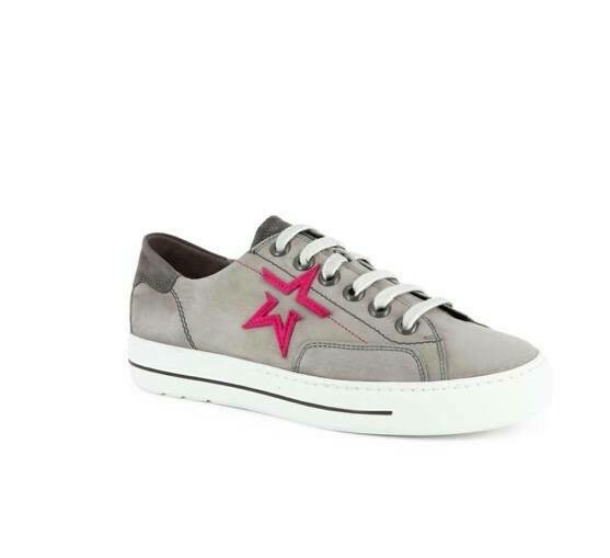 Paul Green Hot Pink Star Sneaker