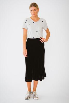 Velvet Skirt - Black