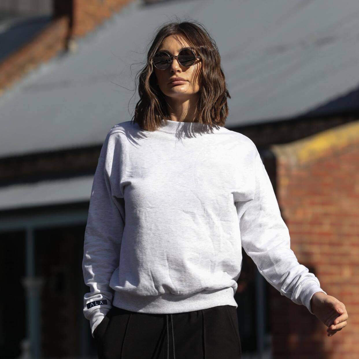 Alexandra Grey Jumper