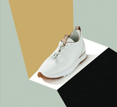 Pull On Style Sneaker - White