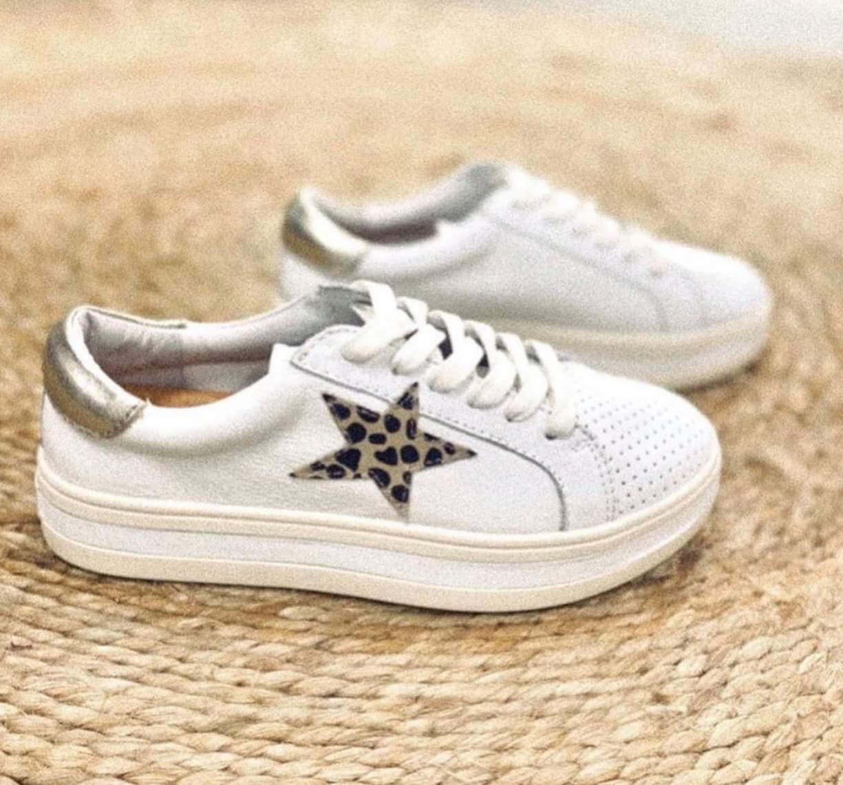Leopard Star Sneaker