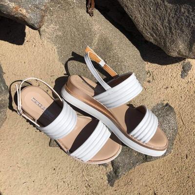 Double Strap Platform Sandal