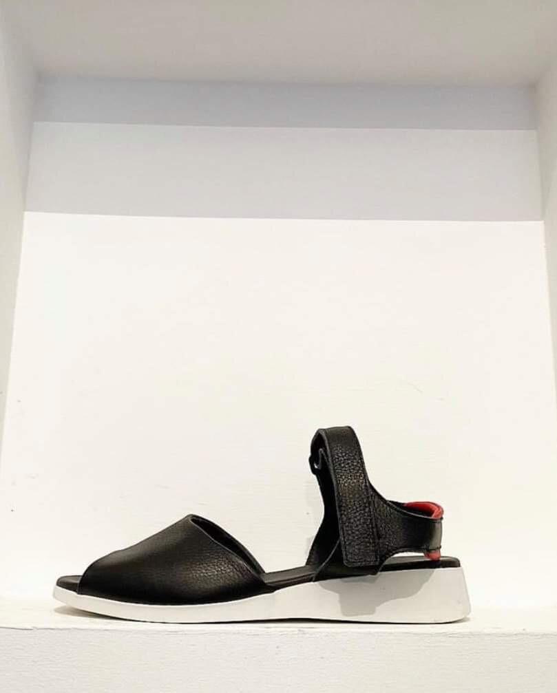 Black Contrast Sandal