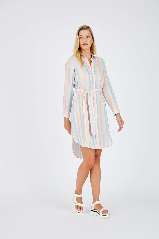 Alessandra Rainbow Dress