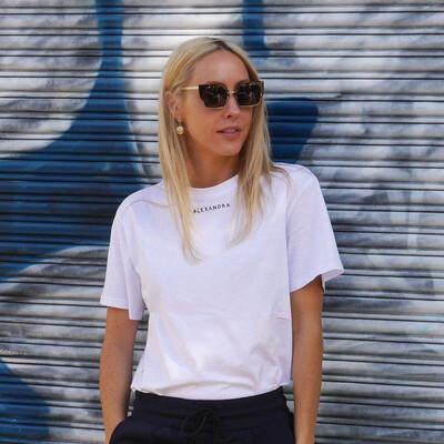 Alexandra Tee - White