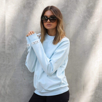 Alexandra Light Blue Jumper