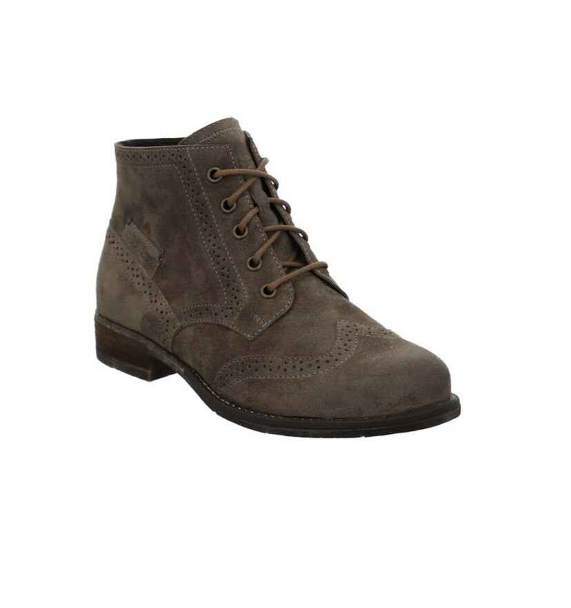 Josef Seibel Sienna 74 Leather Lace Up Ankle Boots, Taupe