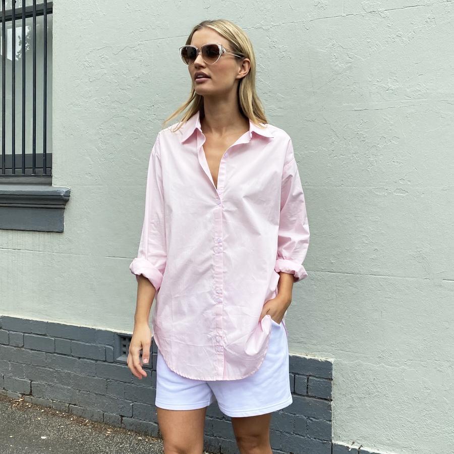 Alexandra The Label - Austin Shirt pink