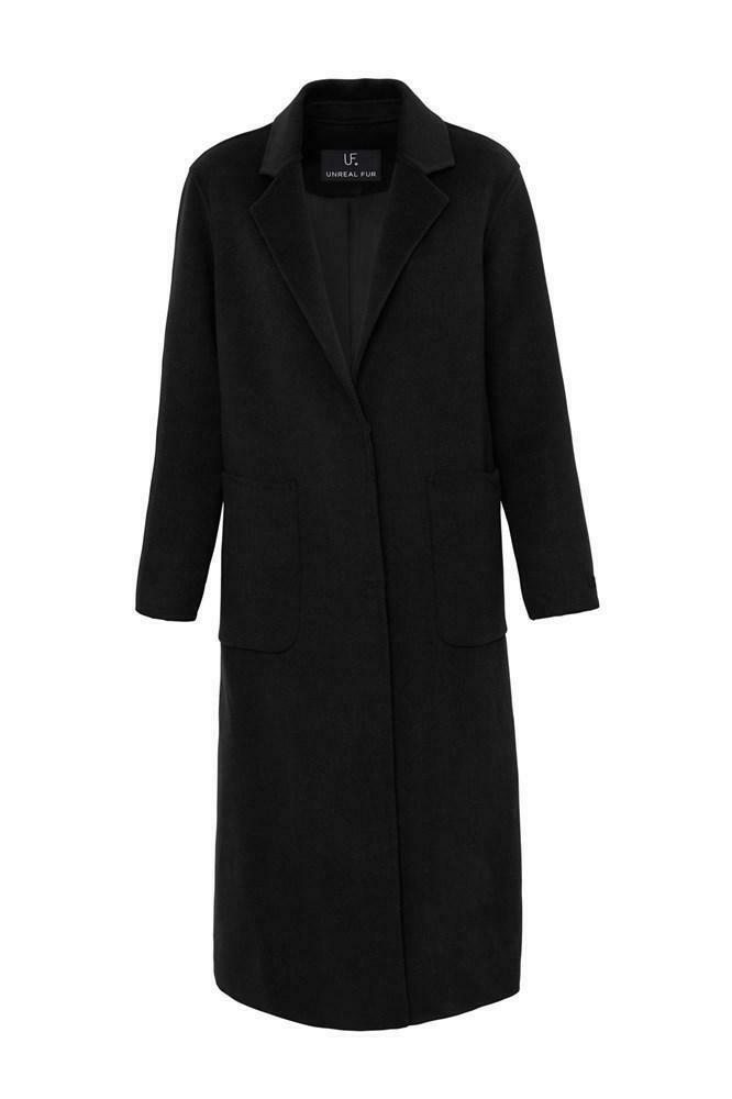 Unreal Fur- Loving Coat Black