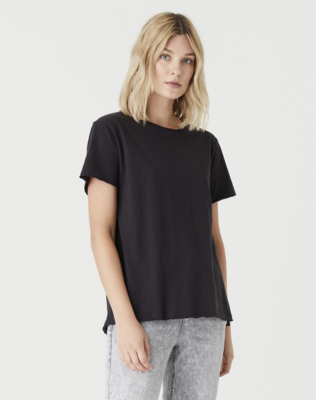 Jac and Mooki Kaia T-shirt- Vintage Black