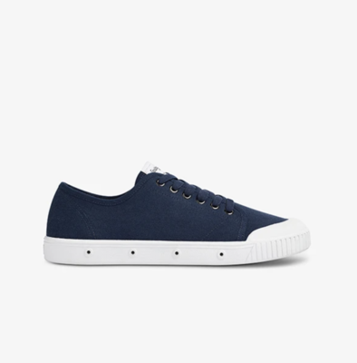 Spring Court - Navy Canvas
