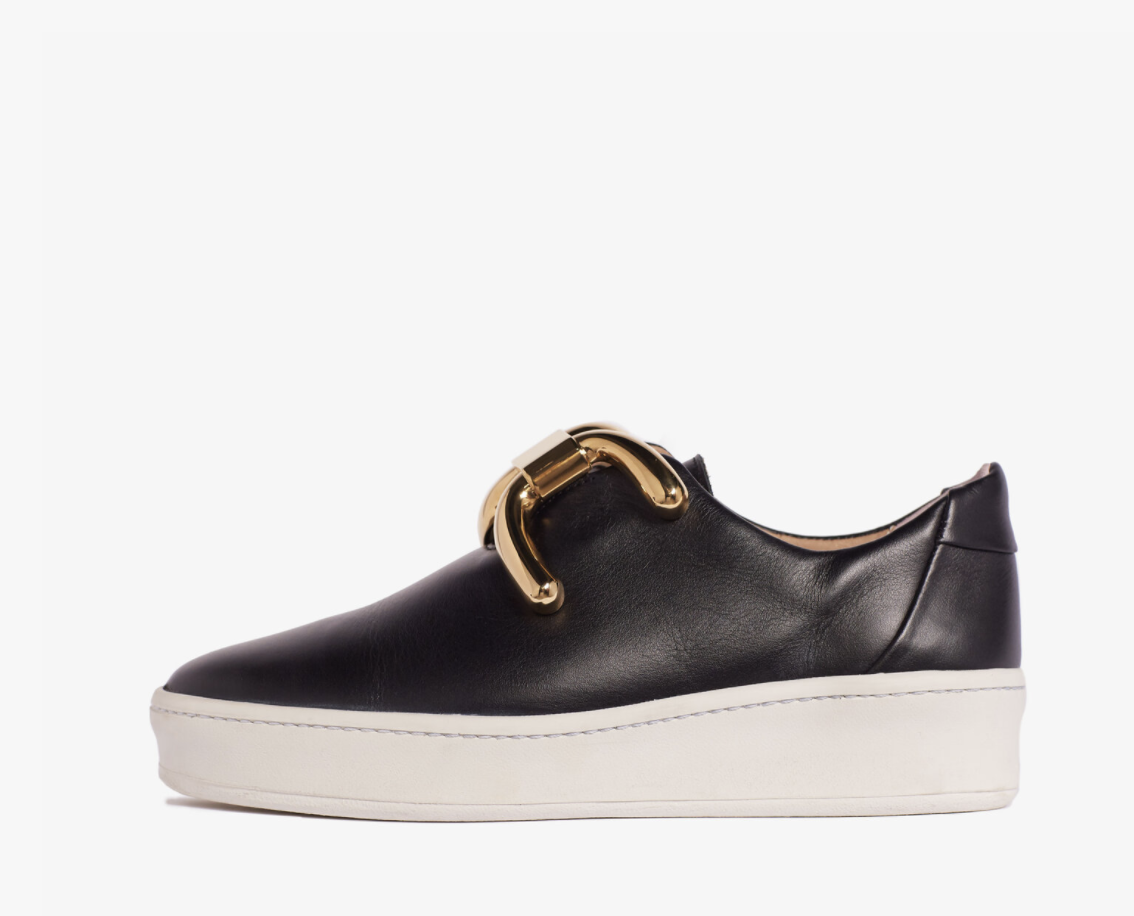 An Hour and A Shower - Knot Sneaker Black/ Gold