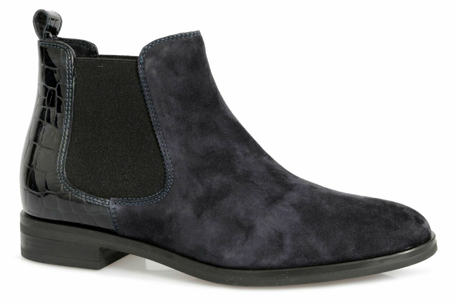 Sempre Di Navy Ankle Boot