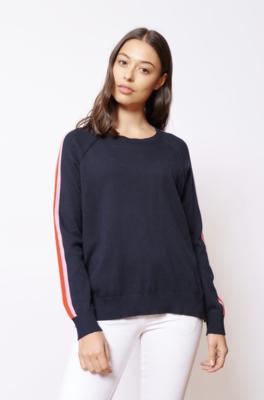 Alessandra Neat Navy Sweater
