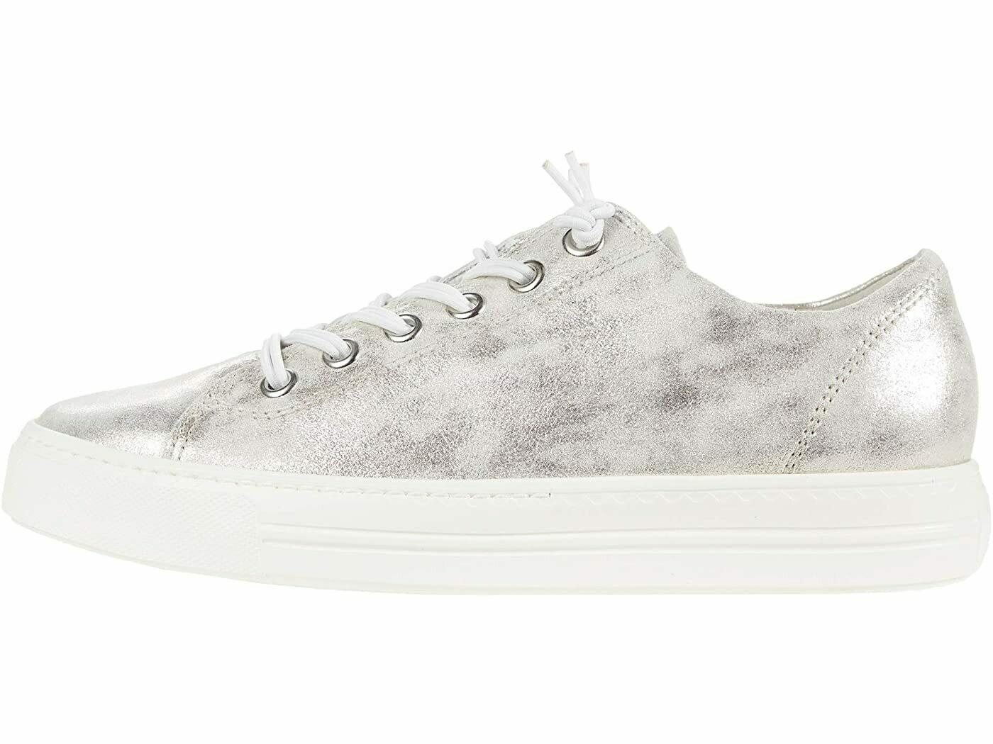Paul Green Metallic Sneaker - Mineral
