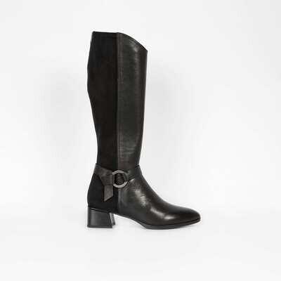 Hispinitas Long Boots Black