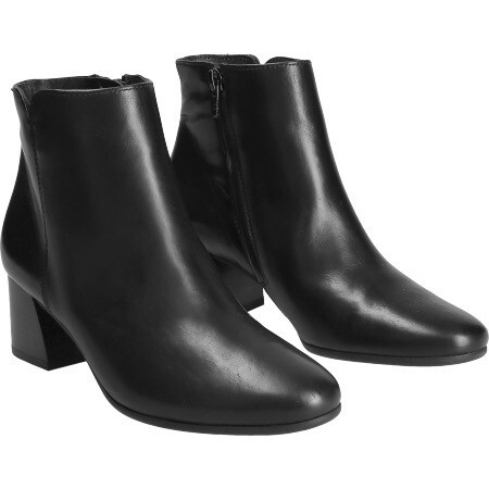 Paul Green Black Leather Boot