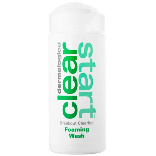 Breakout clearing foaming wash