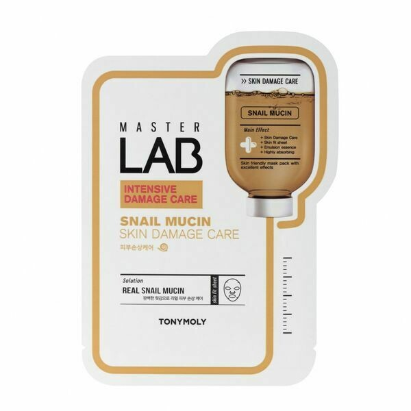 Master Lab Sheet Mask Snail Mucin
