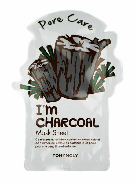 I'm Real Charcoal Sheet Mask