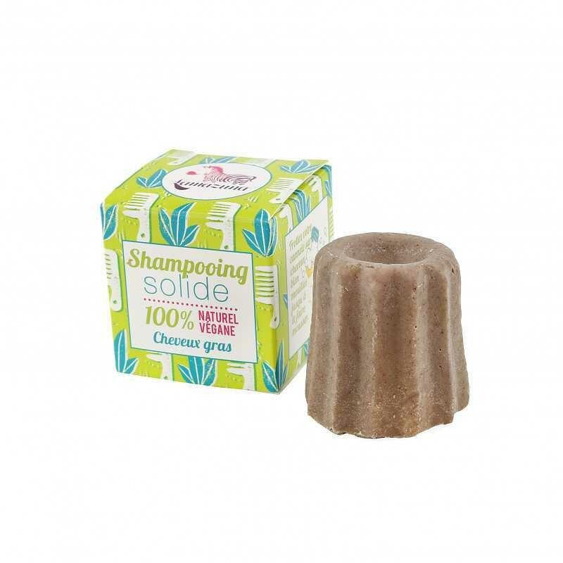 Solid Litsea Shampoo for oily hair 55g
