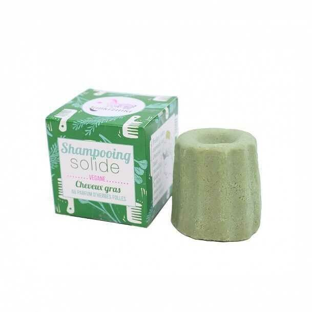 Solid Wild Grass Shampoo for oily hair 55g