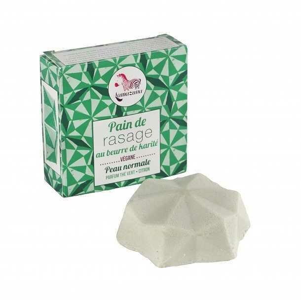 Green Tea & Lemon Shaving Bar 55g