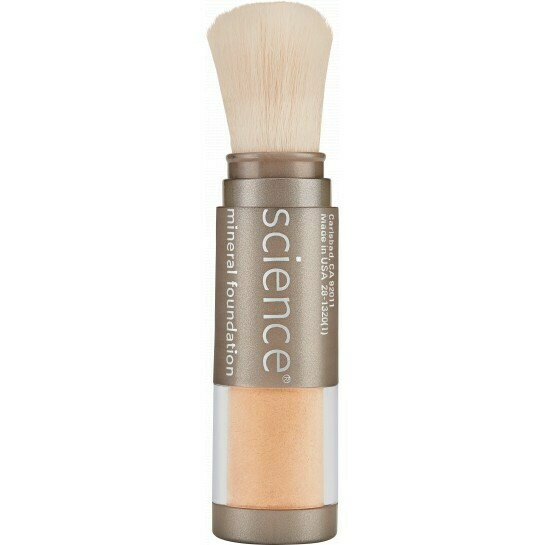 LOOSE MINERAL FOUNDATION BRUSH SPF 20 Light Ivory