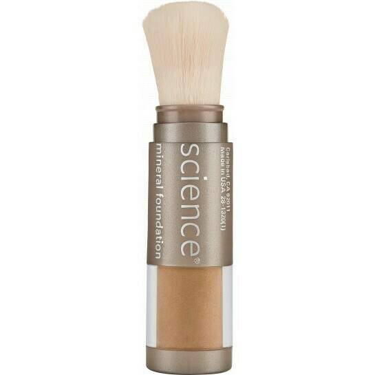 LOOSE MINERAL FOUNDATION BRUSH SPF 20 Tan Golden