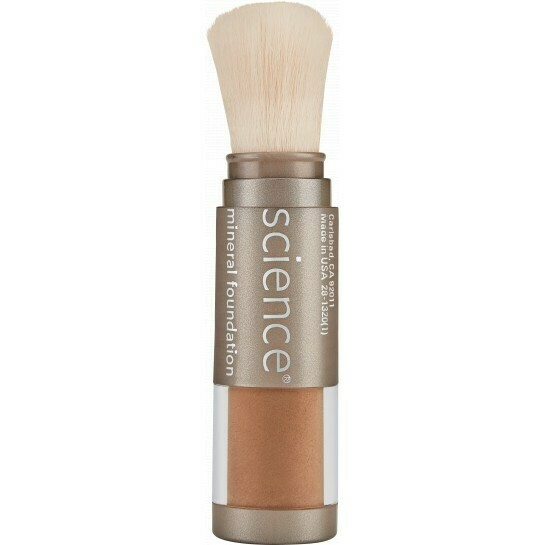 LOOSE MINERAL FOUNDATION BRUSH SPF 20 Deep Mocha