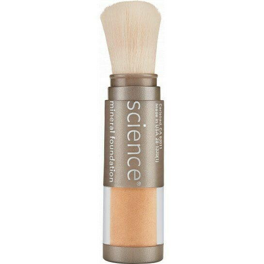 LOOSE MINERAL FOUNDATION BRUSH SPF 20 Medium Bisque
