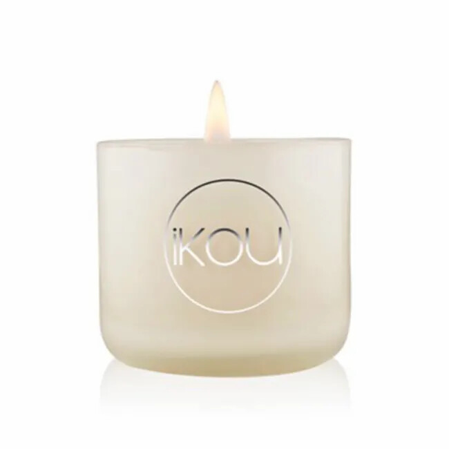 ECO-LUXURY CANDLE GLASS SMALL - HAPPINESS