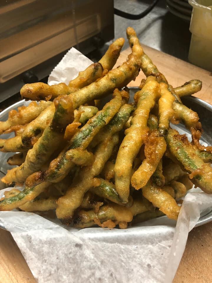 Hand Battered - Fried Green Beans