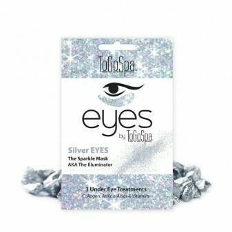 ToGoSpa Silver Eyes Under Eye Masks