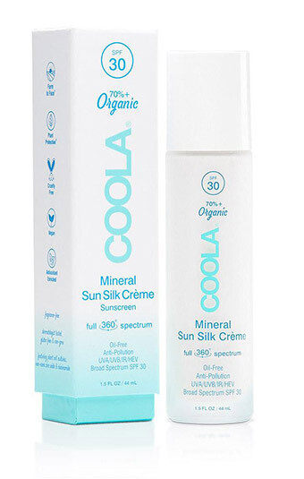 Coola Full Spectrum 360° Mineral Sun Silk Crème Organic Face Sunscreen SPF 30