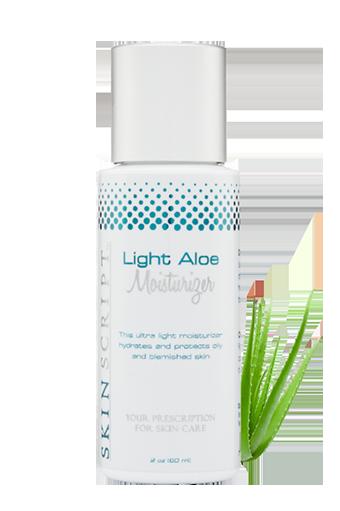 Skin Script Light Aloe Moisturizer