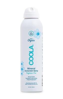 Coola Mineral Body Organic Sunscreen Spray SPF 30