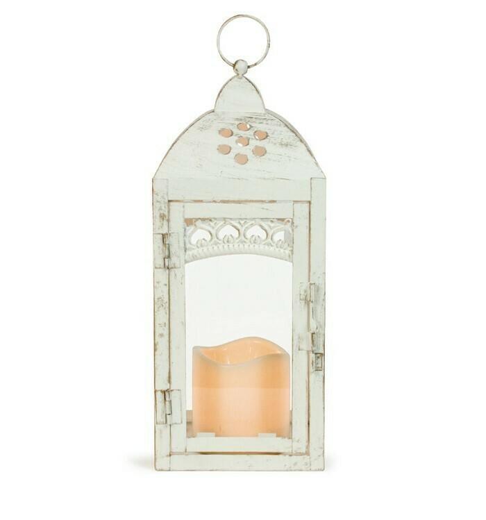 Gold Brushed Lantern
