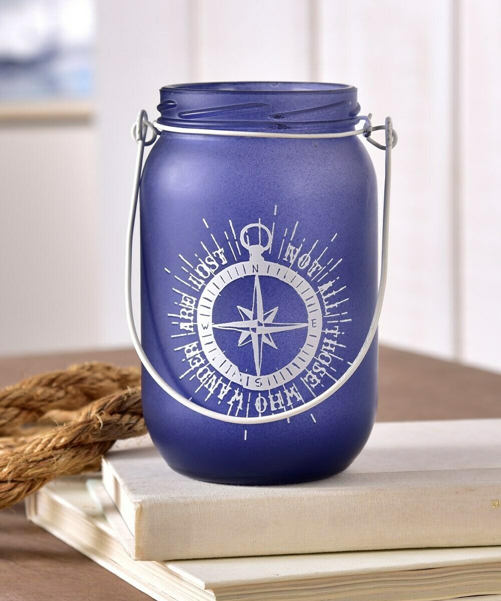 Purple Hanging Jar