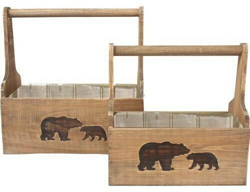 SM Bear Crate W/handle